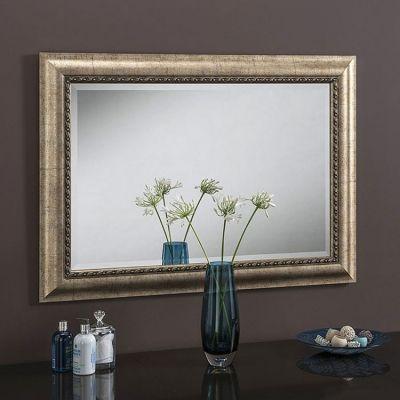 Decorative Wall Mirror Champagne 119 x 94cm