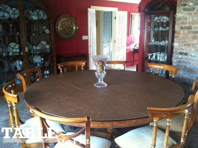 Round Table Pad    Www.tablesaver.com #tablesaver #table Pads #