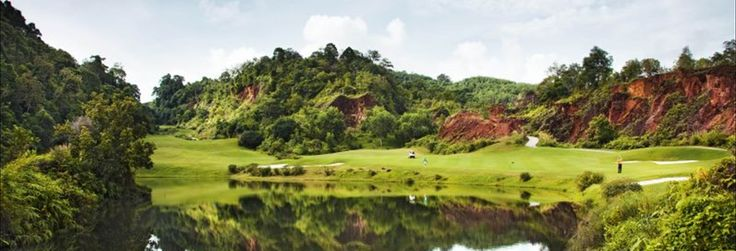 This is the highest course in Phuket and some of the views from various points of the golf course are breathtaking