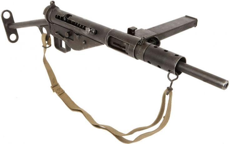 STEN Mk3 Submachine Gun - Forgotten Futures