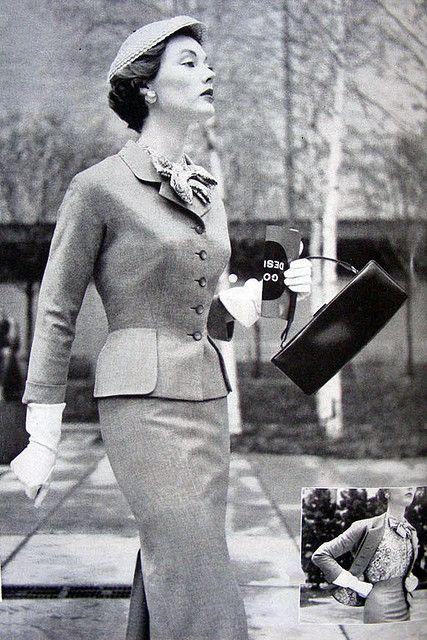 Vogue Pattern Book March 1954