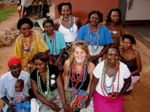 Mzuribeads working to help support women in Uganda.