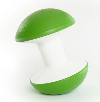 Le siège de bureau ergonomique DOME propose une assise active qui muscle le dos de son utilisateur, tandis que son design fun et coloré décore les bureaux.