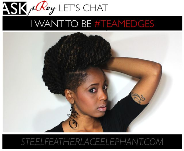 Thinning Hairline?- 'But I Want to be #TeamEdges, Tho'