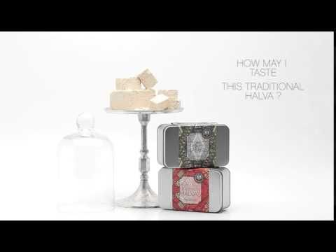 Video - Traditional Marathona Halvas with Cranberry. A handmade product of the highest nutritional value and quality.