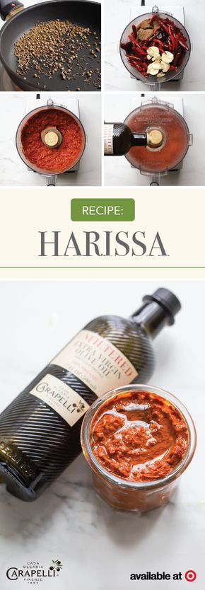 High-quality appetizers that are easy to make and taste delicious are hard to come by. Well, that was before this recipe for Homemade Harissa using Carapelli® Unfiltered Extra Virgin Olive Oil! By finding all the ingredients you need at Target, like bell peppers, chilis, and aromatic spices, this spicy dip idea will be ready for entertaining in no time.