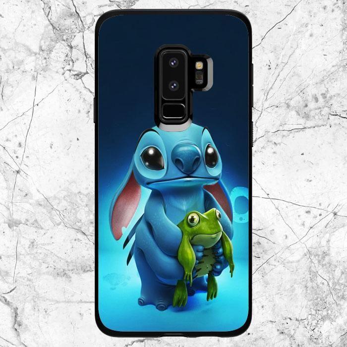 34872da93e1 Disney Stitch With Frog Samsung Galaxy S9 Plus Case in 2019   Phone ...