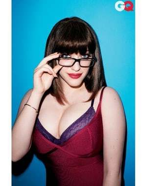 The Glasses Make Her Smarter is listed (or ranked) 1 on the list The 28 Hottest Pics of Kat Dennings