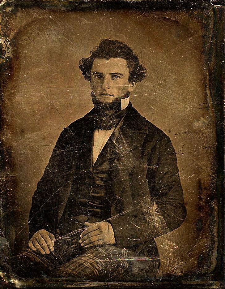 My Daguerreotype Boyfriend. Very interesting site with pictures of men from the good ol' days. Most of the men featured are quite cuties in my opinion ;-)
