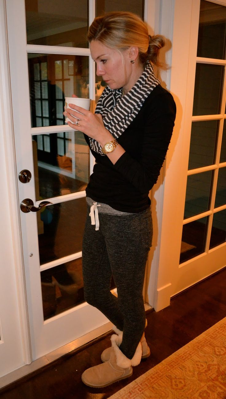 C. Style: Comfy Clothes - J. Crew Saturday Pants--- if I could wear this allll day eveerrryyyyday it'd make me so happy