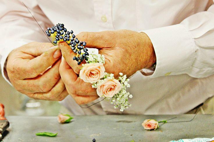 Srta. Moneypenny: coronas de flores DIY #floralcrown #crown #flowers