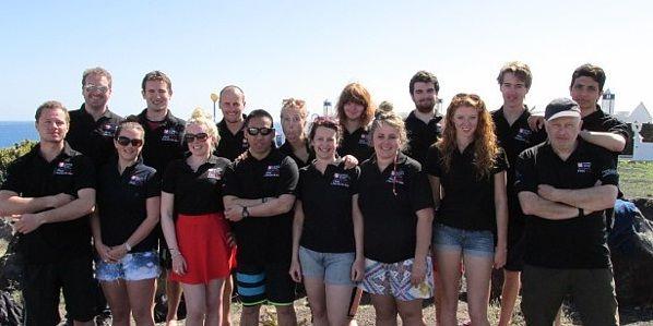Team shot of our Sub-Aqua club from their recent trip to Lanzarote. http://sportsolent.wordpress.com/2014/02/19/dive-underwater-with-team-solent-sub-aqua/