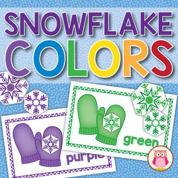 A snow and winter themed color matching activity. Kids will have the opportunity to learn colors, practice counting, compare numbers, sort by style and size, play several different games. Many ideas are included in this hands-on activity. This resource is great for individual activities, or small group activities for your preschool, pre-k, or prekinders classroom.