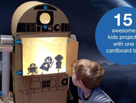 Collected: 15 awesome things to make with a cardboard box