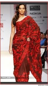 red saree - Google Search