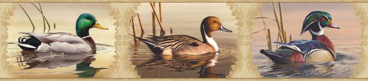 duck wallpaper border