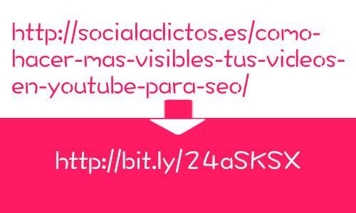 Acortadores de URL: ¿Por qué deberías usarlos?