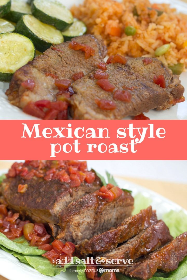 Put a flavorful twist on traditional pot roast with this delicious Mexican style…   – Dinners