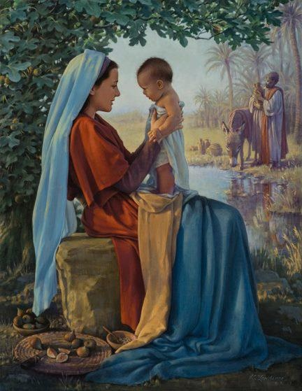 Mother Mary and baby Jesus! beautiful picture,I love it...I can imagine the love....