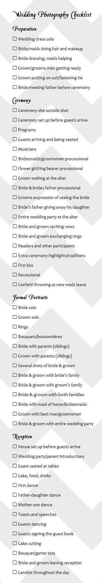 wedding photography checklist best photos - wedding photography - cuteweddingideas.com #weddingphotographs