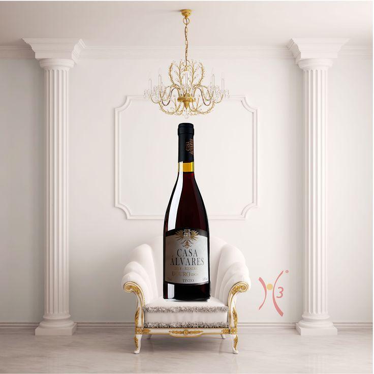 Criação do rótulo Casa Álvares Reserva 2014. #h3design #lançamento #rotulodevinho #embalagem #wineryloves #douro #vinholovers #vinholuxo #vinhoportugues