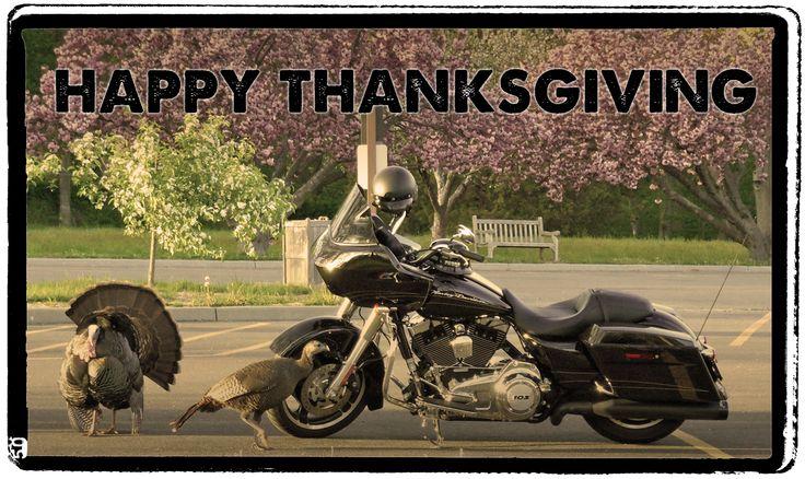 Happy Thanksgiving. Ride Safe. #thanksgiving #harley # ...