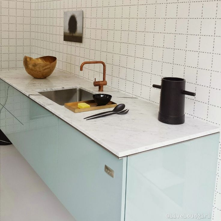 Kitchen // depot Rotterdam // picture by Live Loud girl // green + copper