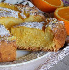 crostata morbida all'arancia..
