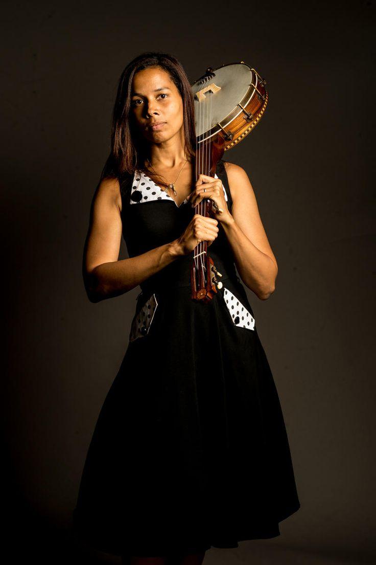 """O Love Is Teasin"" - singer, Rhiannon Giddens - (member of Carolina Chocolate Drops)"