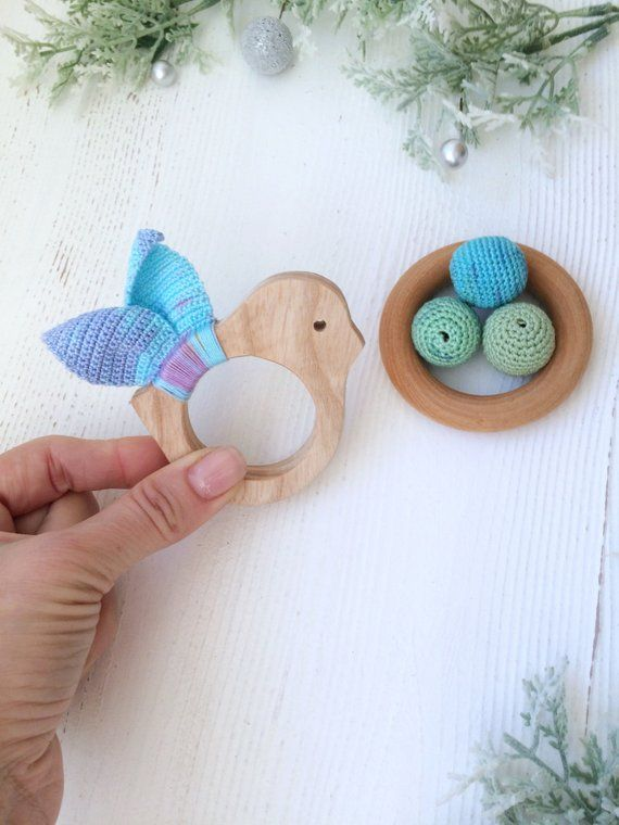 Toy For Baby Niece Wooden Rattle Gift For Baby Niece Etsy Baby Toys Baby Nephew Gifts Baby Niece