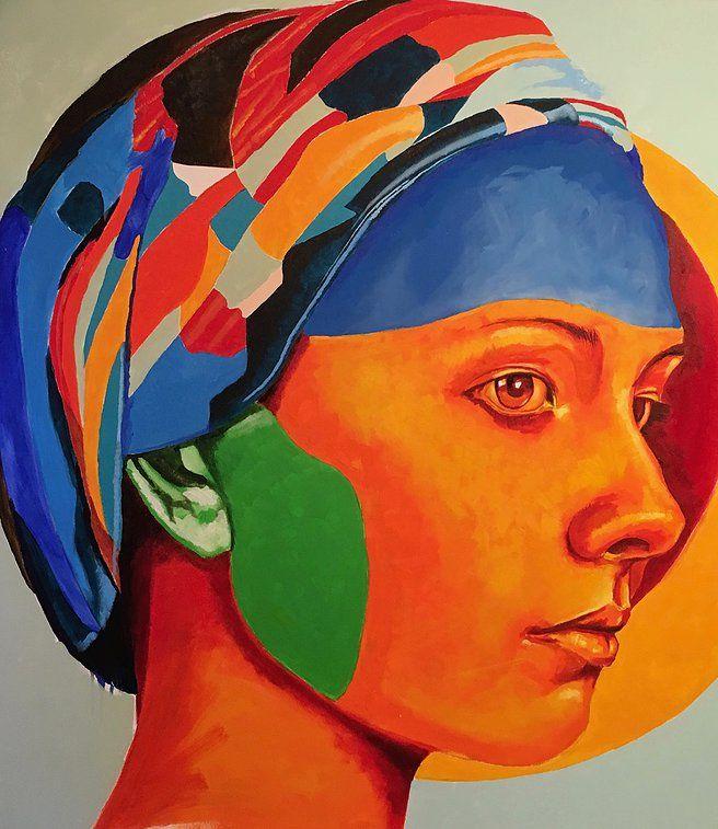 Orange Girl - by Werner Smith