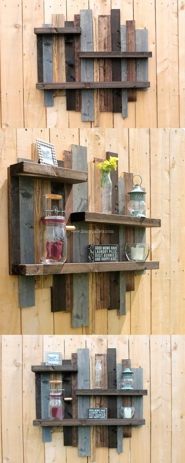 Inexpensive Wooden Pallets Shelve Ideas Wood Pallet Wall Wood Pallets Wooden Pallets