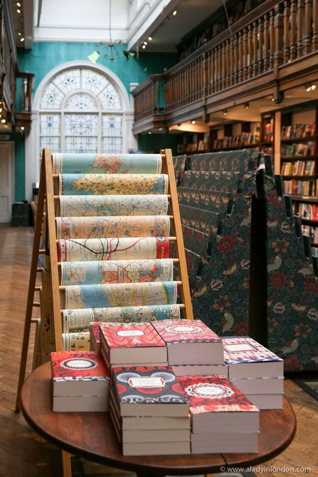 Daunt Books in London's Marylebone