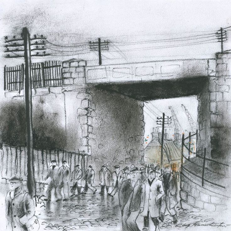 Finishing Time signed limited edition print by Roy Francis Kirton
