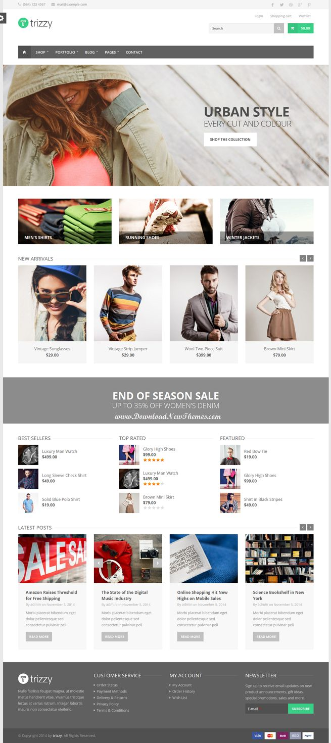 New Powerful Multipurpose eCommerce #Drupal Theme #shop #onlinestore #template