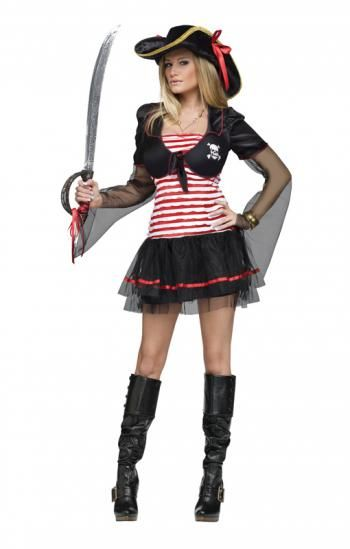 Black Pearl Freibeuterin - Mit der Black Pearl fahren freibeutende Frauen auf Kaperfahrt #karneval #kostum