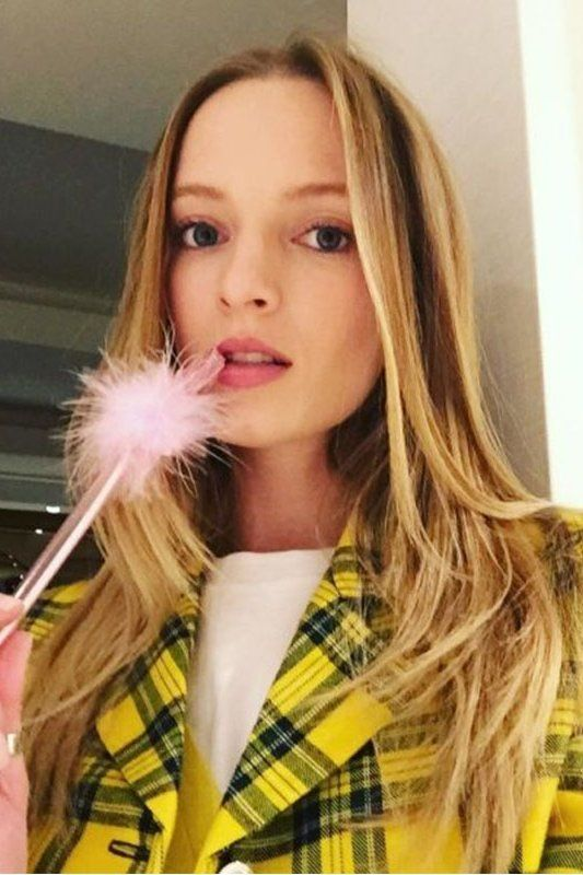WE're obsessed with these fashion girl halloween costumes. Check out our favorite potential looks for halloween 2018. Here, Daria Strokous as Cher from Clueless