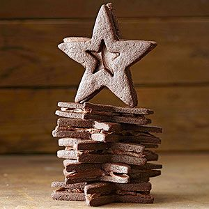 Dark Chocolate Stars From Better Homes and Gardens, ideas and improvement projects for your home and garden plus recipes and entertaining ideas.