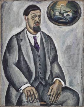 Кончаловский Петр Петрович  Автопортрет в сером 1911