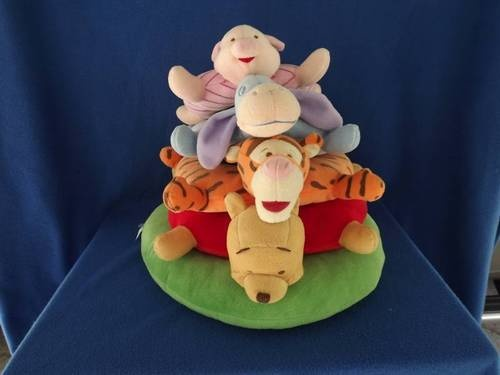 Winnie The Pooh And Friends Plush Ring Stacker Baby Toy