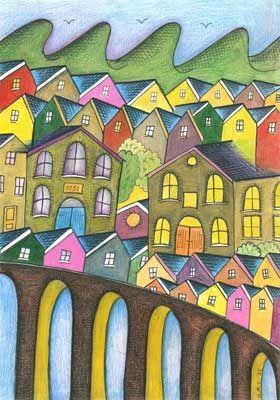 Welsh Valleys Art