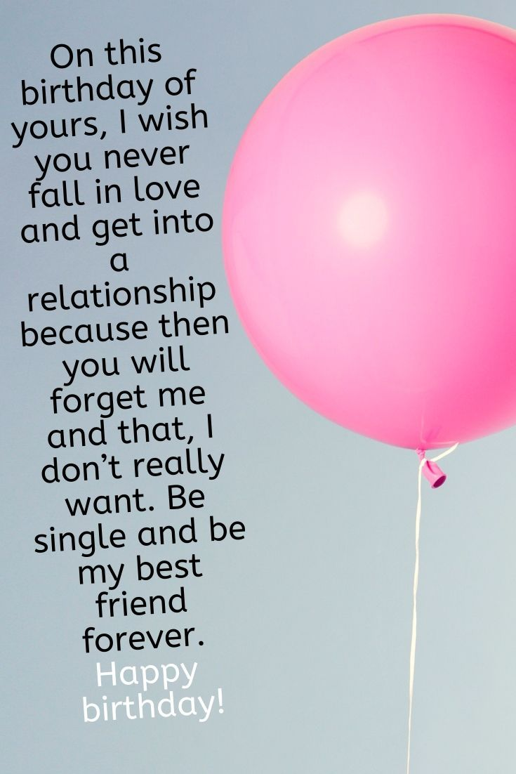 Birthday Wishes For A Male Friend From A Female Birthday Quotes