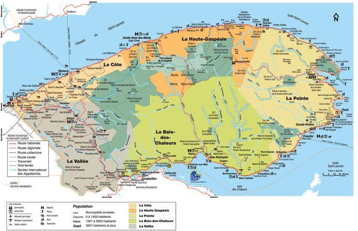 À l'automne 2009, le National Geographic Society classait la Gaspésie comme la troisième plus belle destination au monde, tout juste après les fjords, en Norvège, et les parcs nationaux Koote…