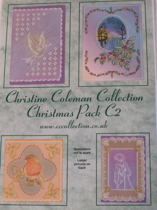 PATTERN PACK C2 BY CHRISTINE COLEMAN    Christmas patterns by Christine Coleman.