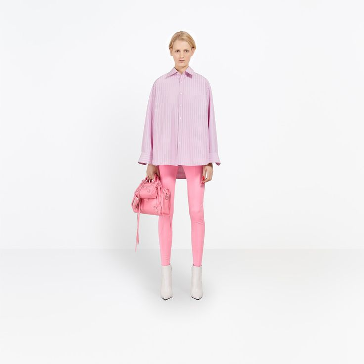 Discover the latest collection of Balenciaga Shirts for Women at the official online store.