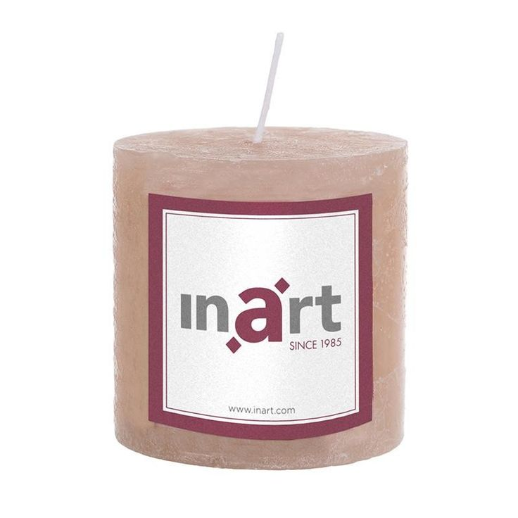 Pillar Paraffin Scented Candle 7x7.5 cm - Candles - Aromatics - DECORATIONS - inart