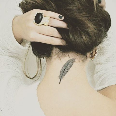 Back-of-the-Neck Tattoo Ideas and Inspiration   POPSUGAR Beauty