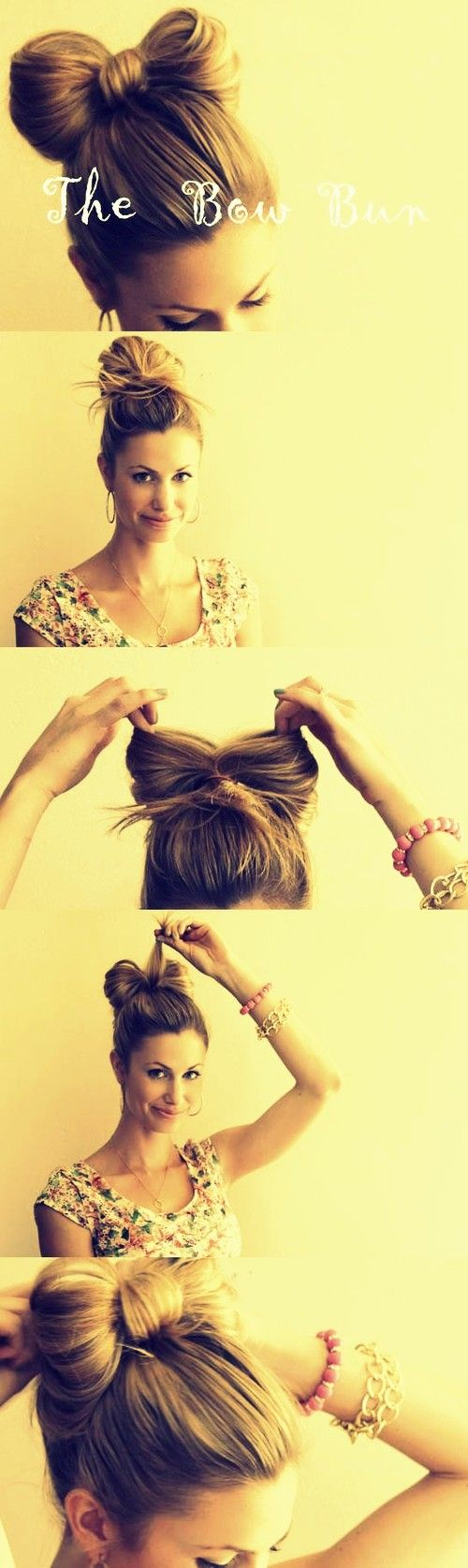 How To Make A Bow In Hair? See.