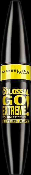 Trend-Setter, Fashion-Victim, das nette Girl? Jetzt den Colossal Go Extreme Leather Black Mascara testen!