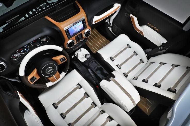 2016 Jeep Wrangler Sahara >> The Jeep Wrangler Nautic Noir's design is inspired by a ...